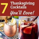 7 Thanksgiving Cocktails You Will Love!