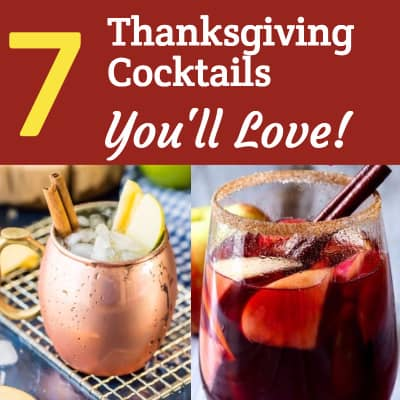 Scrumptious Thanksgiving Cocktails