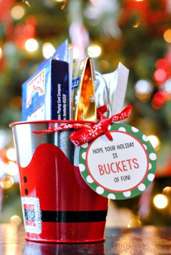 christmas bucket of fun
