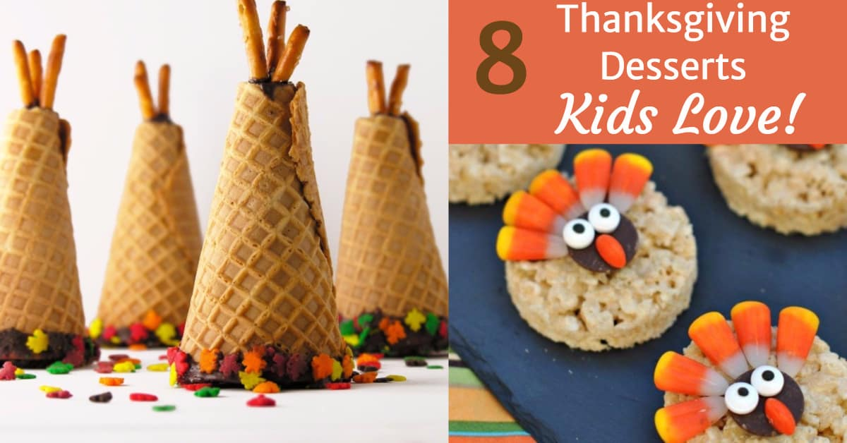 8 thanksgiving desserts kids love findinista for Fun and easy thanksgiving dessert recipes