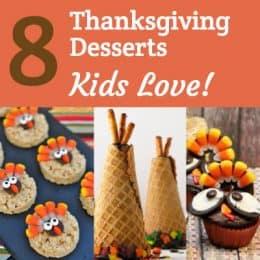 Thanksgiving Desserts Kids Love
