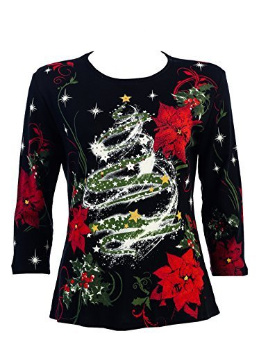 Women's Plus Size Christmas Tops