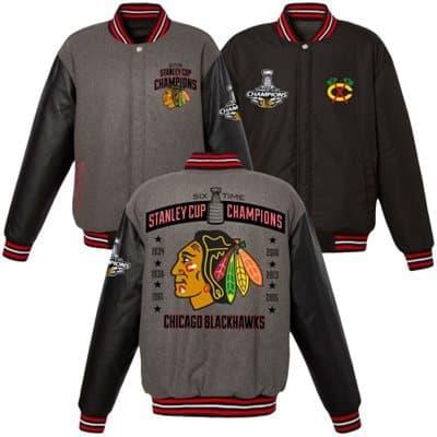 Reversible Chicago Blackhawks Jacket