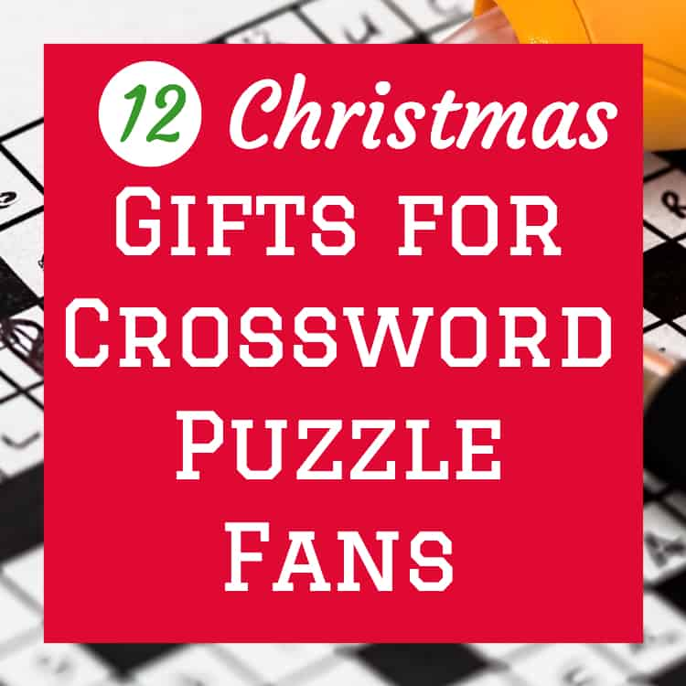 Gifts for the crossword puzzle fan 12 gift ideas for the gifts for the crossword puzzle fan 12 gift ideas for the enthusiast findinista negle Images