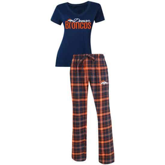 His and hers couples pajamas in their favorite sports team colors are a wonderful choice for the die-hard fan!