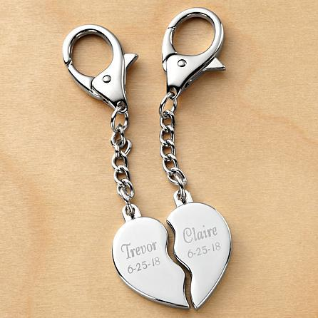 Looking For An Inexpensive His And Hers Gift Idea Delightful Split Heart