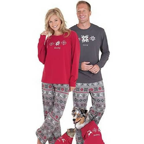 how cute are these matching snowflake pajamas order some for the whole family - Matching Pjs Christmas