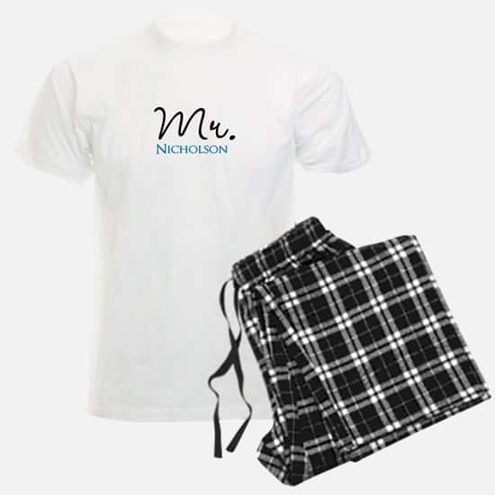 Looking for a unique wedding or shower gift? Personalized Mr and Mrs pajamas are sure to be a hit!