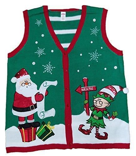 Plus Size Christmas Vests