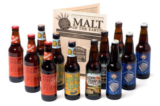 Treat your favorite beer lover to a Beer of the Month Club, and he'll enjoy his Christmas gift all year long!