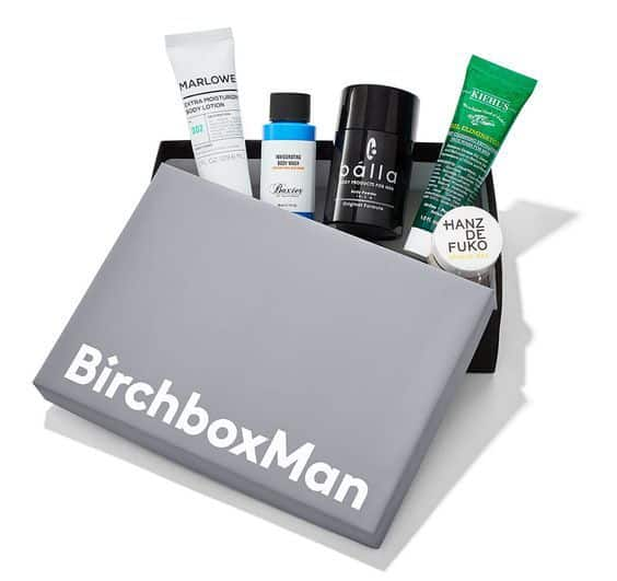 Keep him stylishly groomed all year long with a Birchbox for Men subscription.