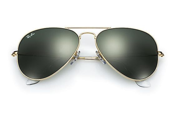 The iconic Ray-Ban aviator sunglasses - still cool after all these years!  Did you know you could personalize them for just $5?