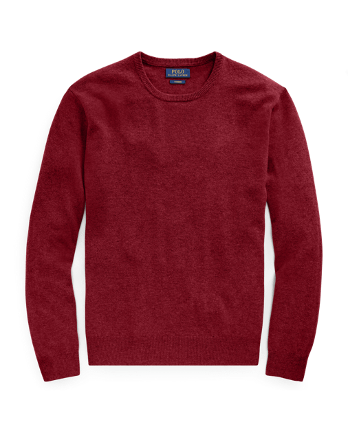 Looking for a fabulous gift for the fashionable man?  He'd love this classic cashmere sweater by Ralph Lauren!  The best part - it's washable!  Available in 6 colors.