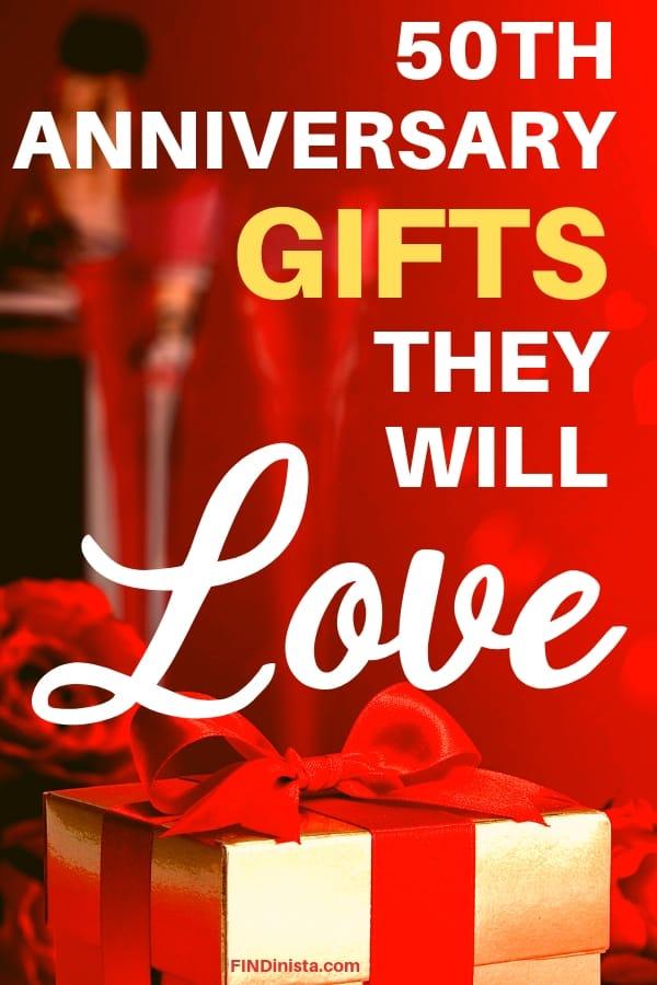 50th Wedding Anniversary Gifts - Best