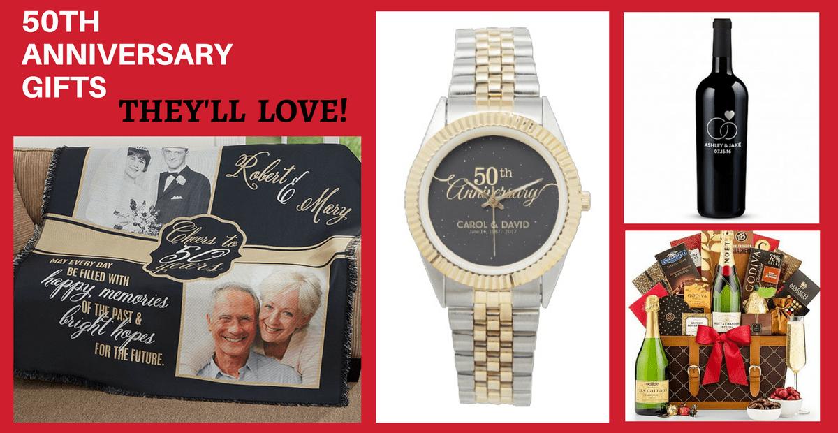 Unusual Golden Wedding Anniversary Gift Ideas: 50th Wedding Anniversary Gifts