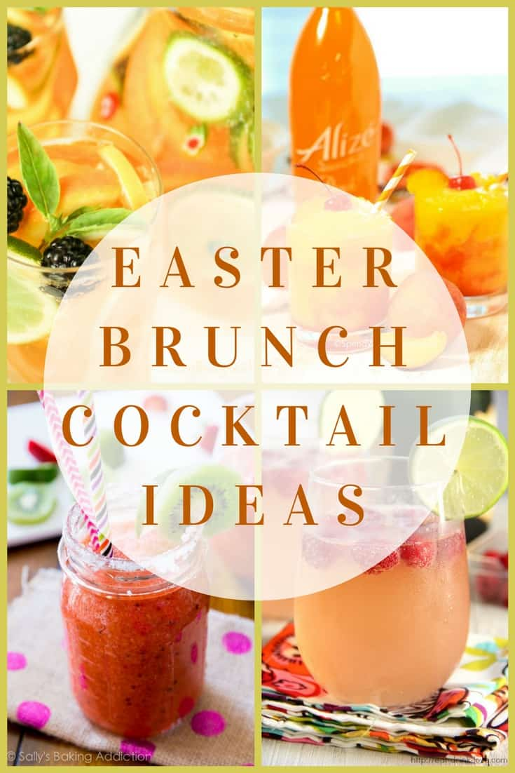 Easter Brunch Cocktail Ideas