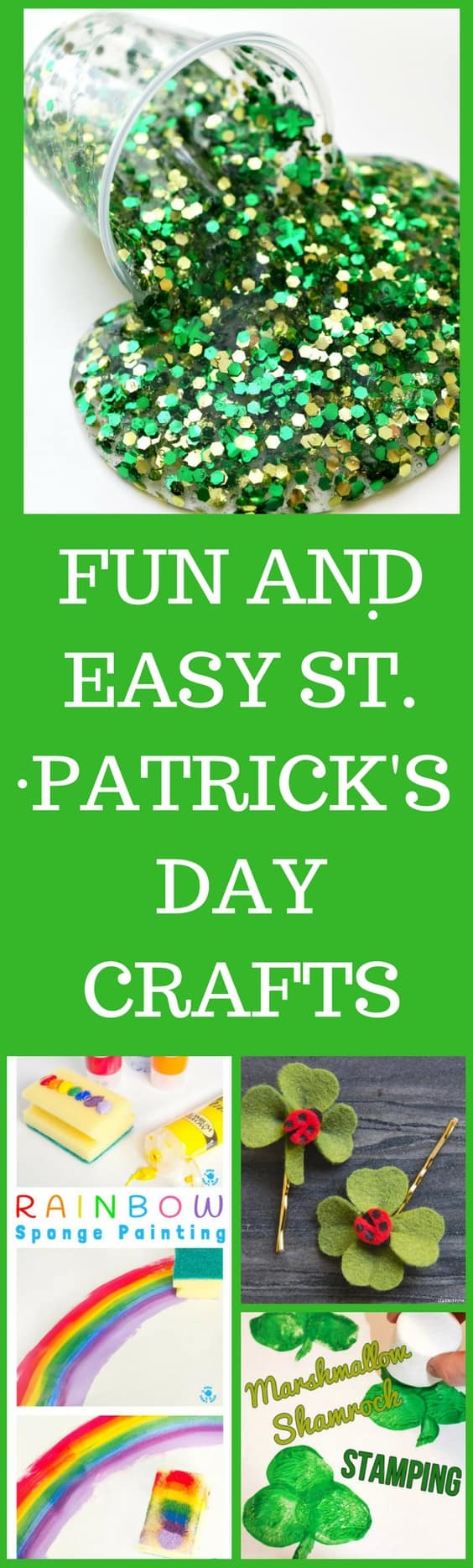 Easy and Fun St. Patrick's Day Crafts