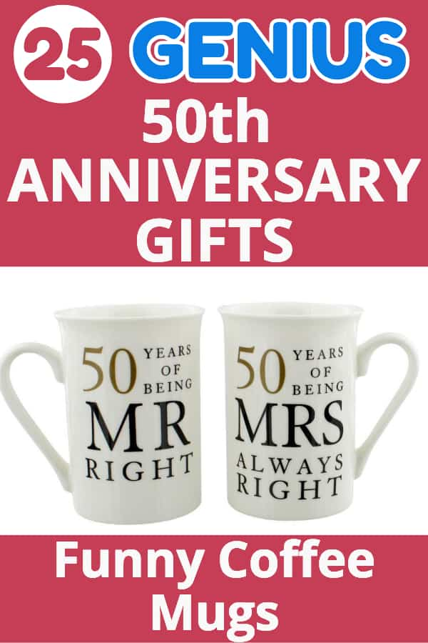 50th Anniversary Gifts - Looking for fabulous gifts for a couple celebrating their golden anniversary?