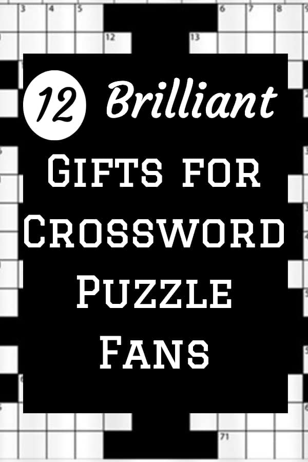 Gifts for the Crossword Puzzle Fan – 12 Gift Ideas for the Enthusiast