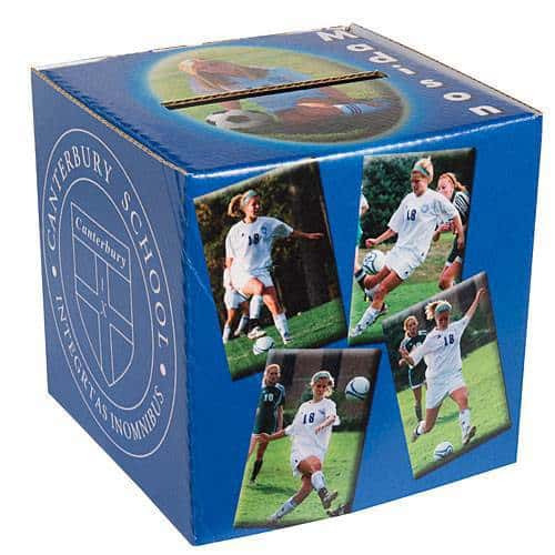 Personalized Grad Party Card Box - You're going to need a card box at the party anyway.  Make your card box extra-special with this photo card box.