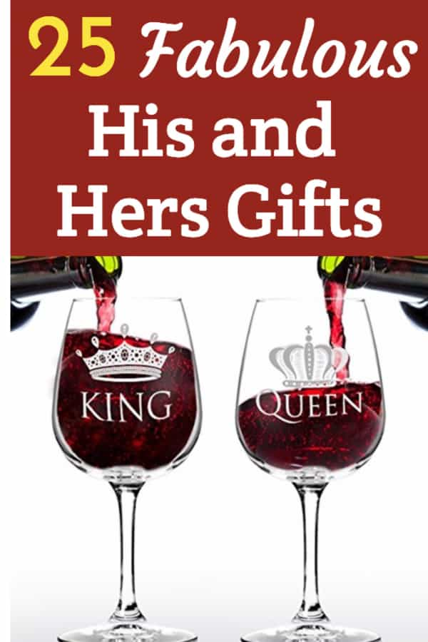 His and Hers Gifts – Unique Presents to Wow Your Favorite Couple