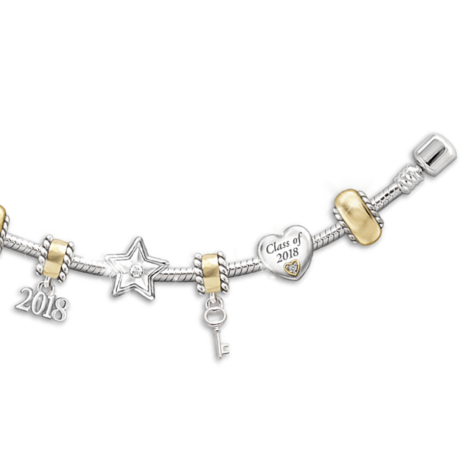 charm bracelet graduation gift idea for college students present