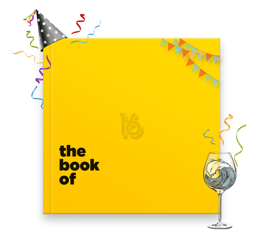 The Book of Everyone great 70th birthday gift or present idea for her