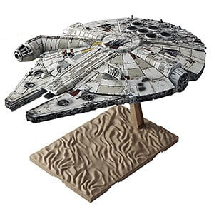 Millennium Falcon Scale Model A good gift for geeky guys who love Star Wars!