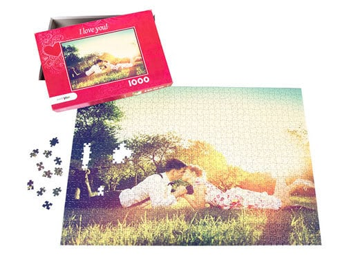 Personalized Puzzle great gift idea for grandma for mother's day