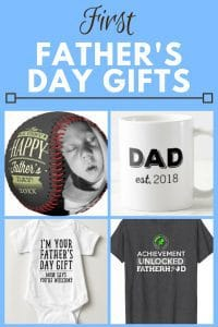 First Father's Day Gifts