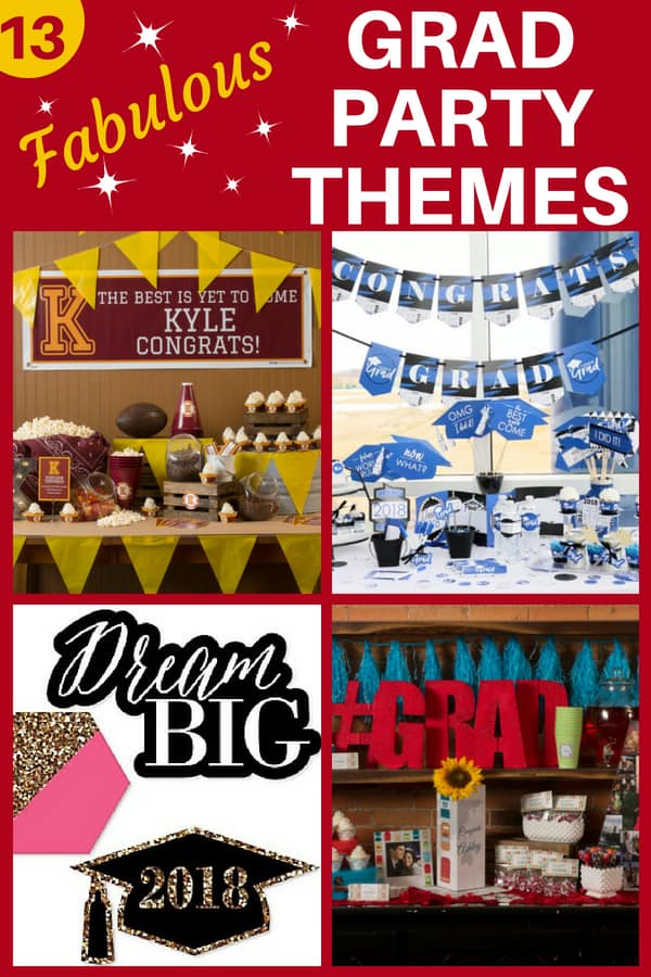 Graduation Party Themes - Looking for easy but impressive graduation party themes for your son or daughter? Celebrate a high school or college graduation in style with one of our easy DIY themes.