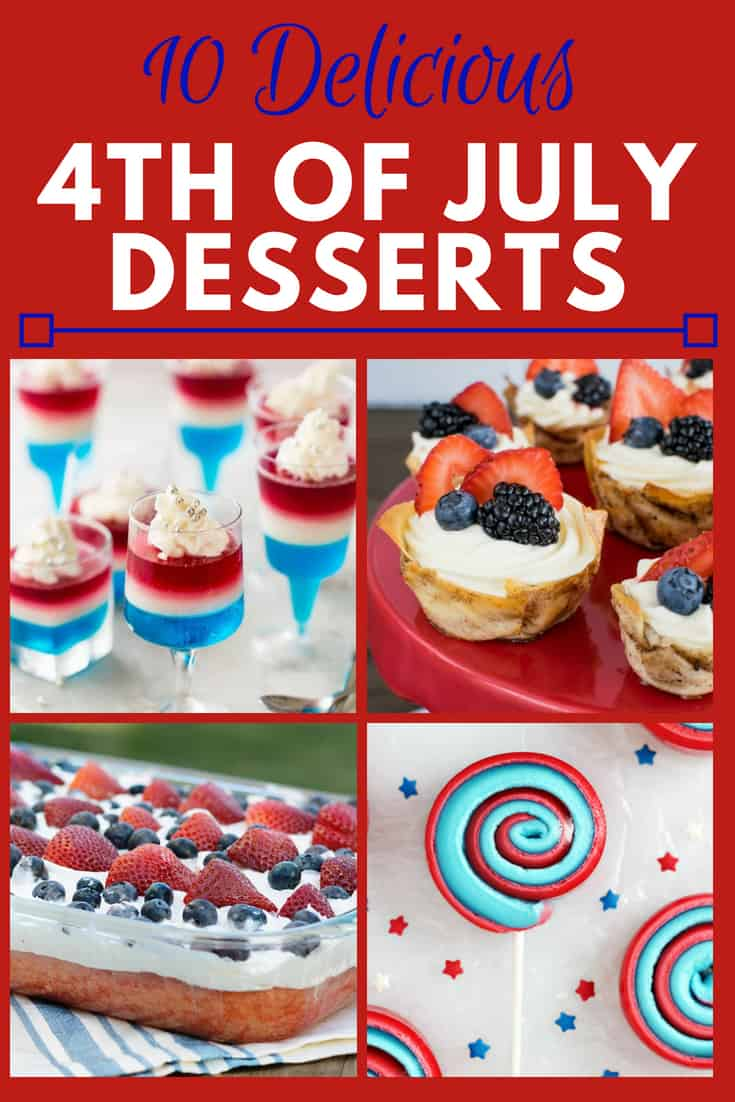 10 Delicious 4th of July Desserts