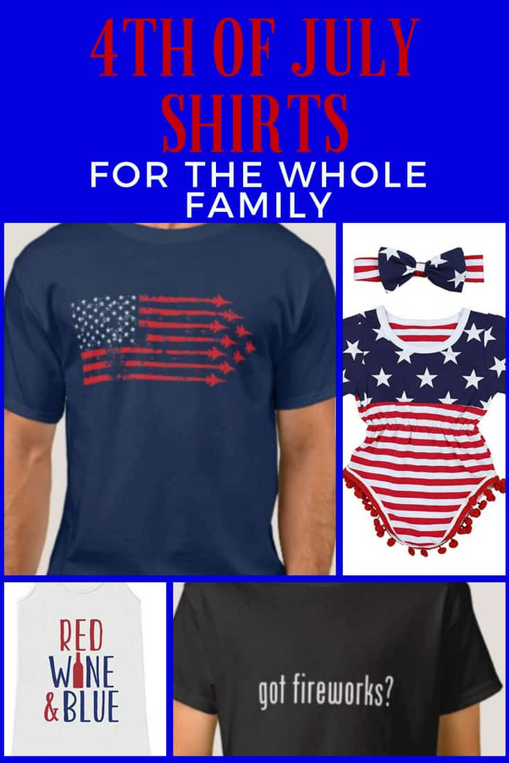 4th of July Shirts for the Whole Family
