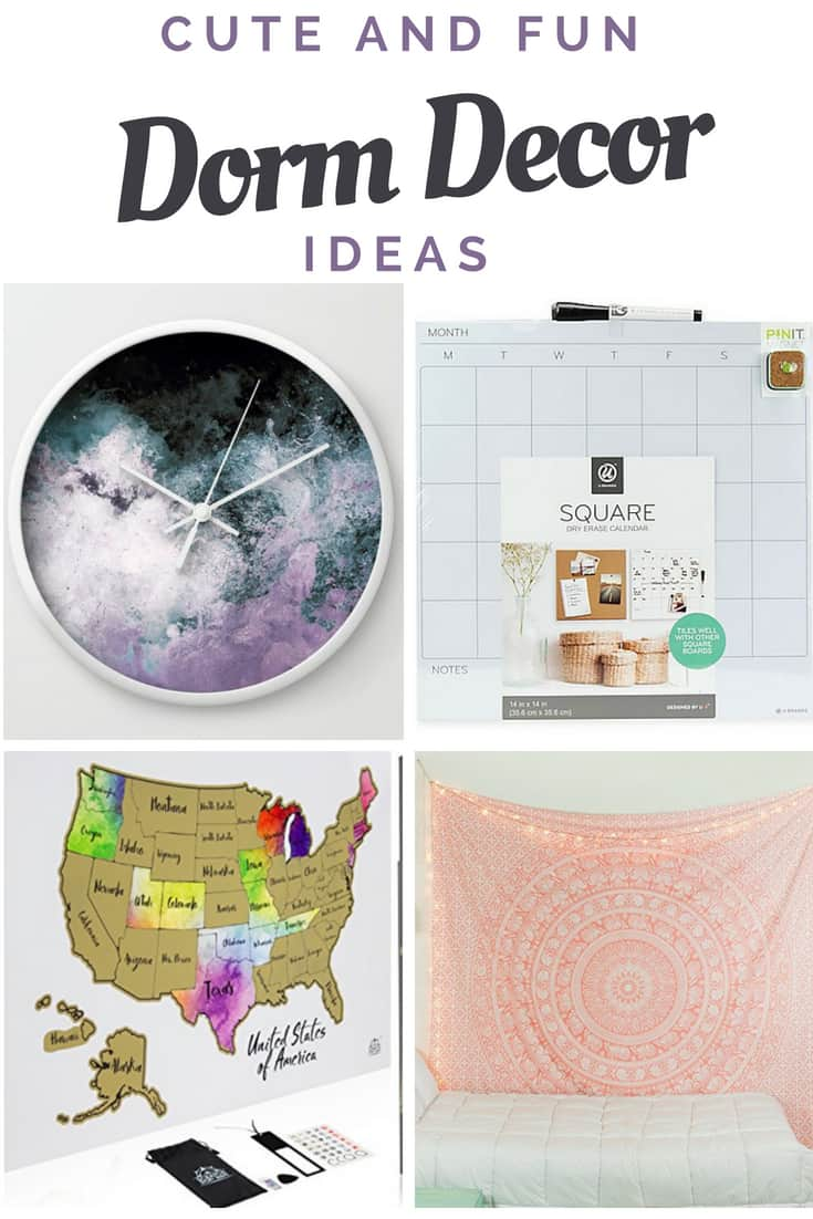 Cute and Fun Dorm Decor Ideas