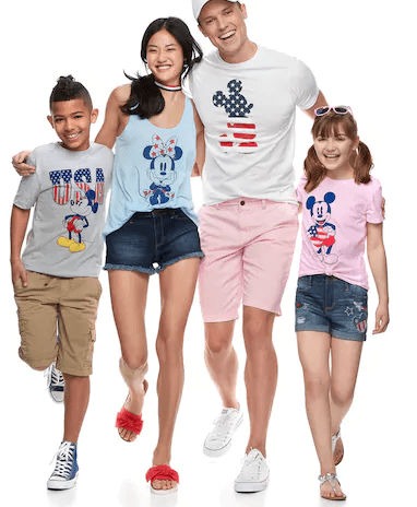 Matching 4th of July T-Shirts for the Whole Family