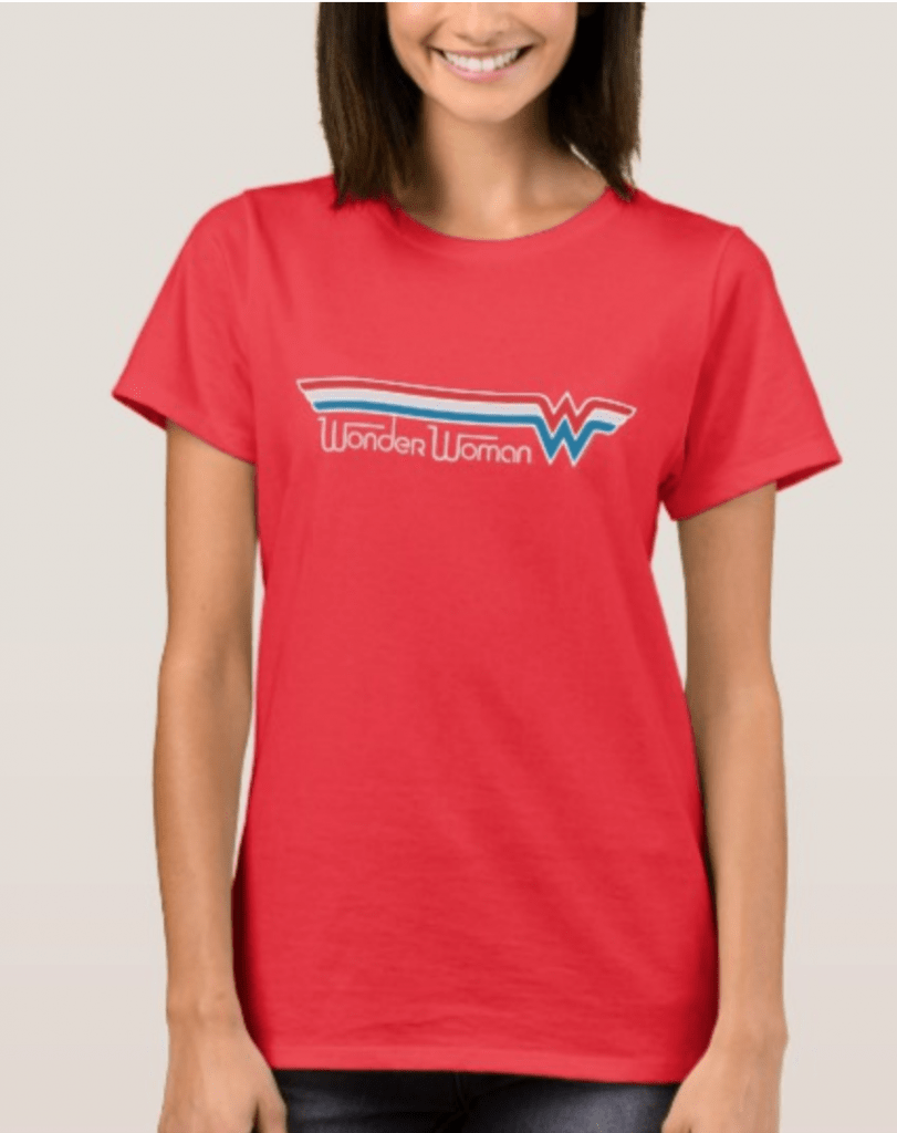 Wonder Woman Shirt for 4th of July