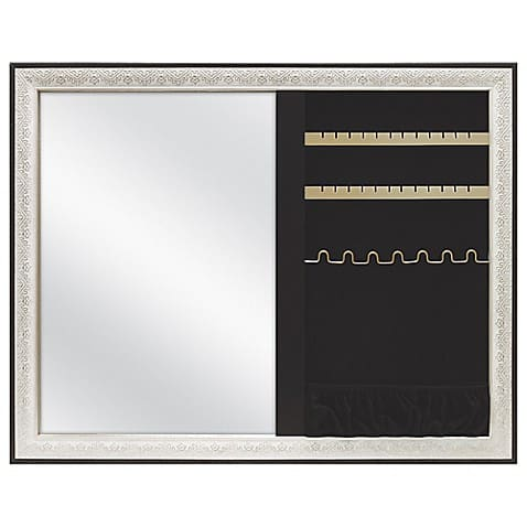 Mirror and jewelry organizer - Dorm Decor Ideas