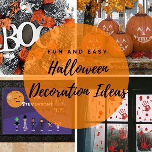 Fun and Easy Halloween Decorations