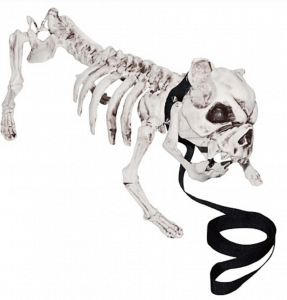 Skeleton Dog - Spooky Outdoor Halloween Decoration