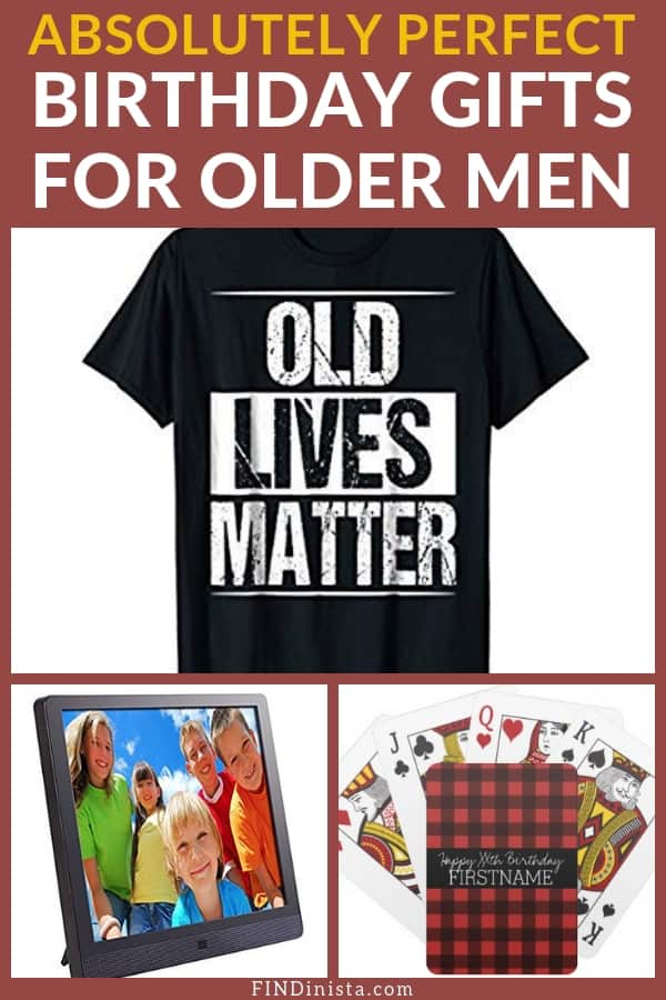 Birthday Gifts for Older Men - Looking for awesome gift for older men? Thrill even the hard-to-buy for senior man with one of these fabulous birthday presents!