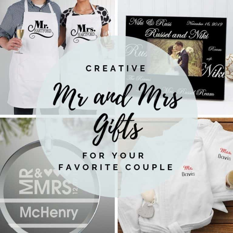 Mr and Mrs Gifts - Unique Gifts For Your Favorite Couple