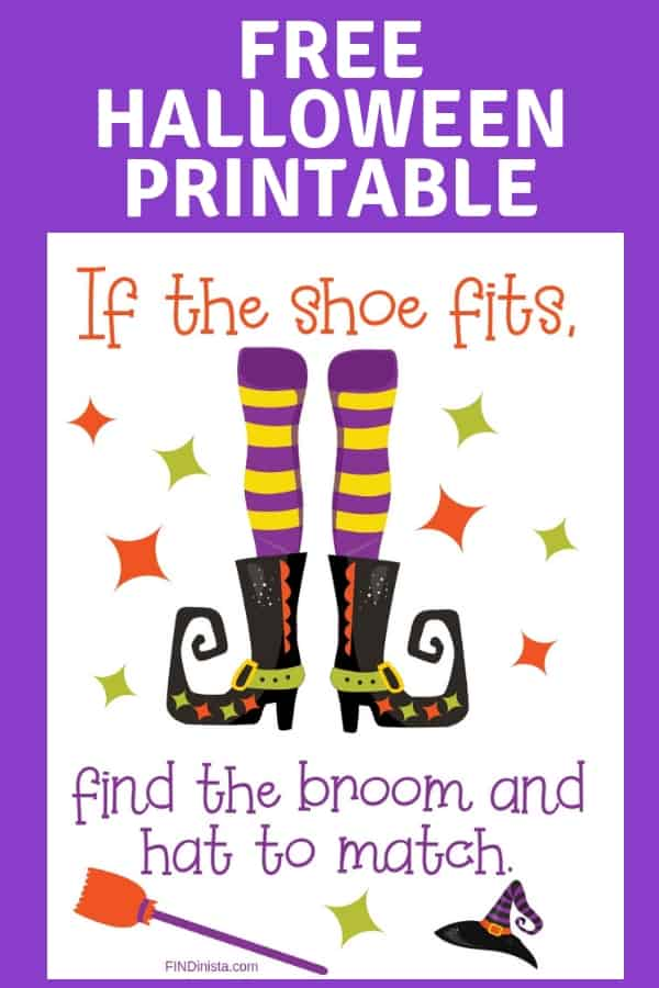 Free Halloween printable - The perfect Halloween quote for the fashionista is now a free printable.  Click to download this funny printable to print on your home printer. #FINDinista.com #Halloween #halloweendecorations #printables #halloweenstuff