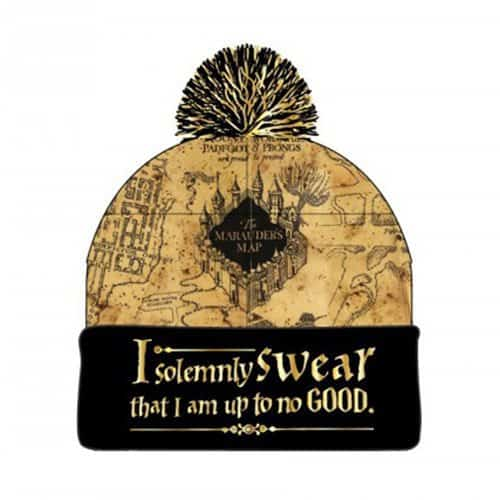 Marauder Map Beanie - Perfect Gift for any Harry Potter Fan