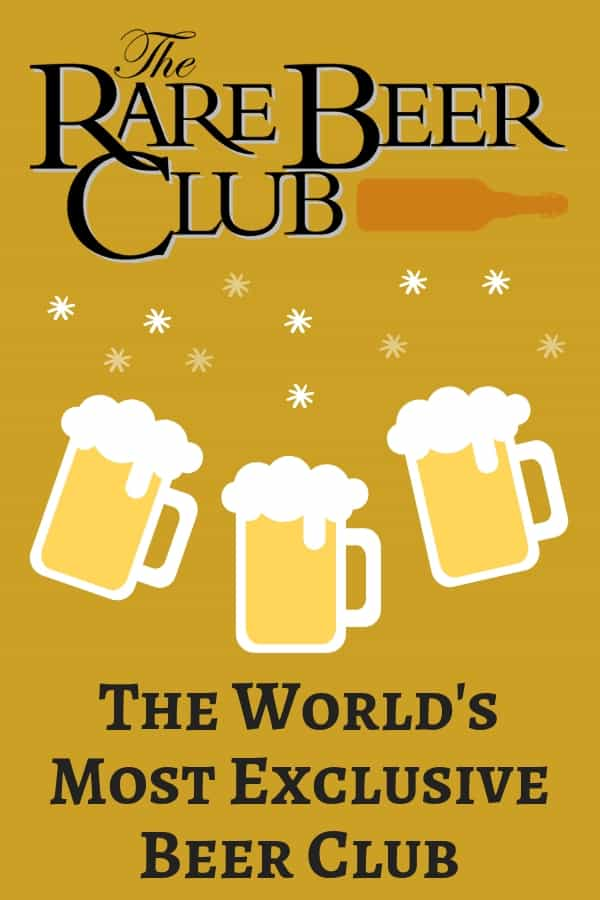 Christmas gift ideas for men - Impress your husband, boyfriend or Dad this Christmas with an exclusive membership to the Rare Beer Club.