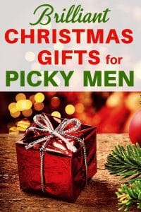 Christmas gifts for picky men - Looking for a fabulous Christmas gift for the man who has everything? Click to see unique Christmas gifts that even the pickiest husband, boyfriend or father will love! #giftsforhim #FINDinista.com