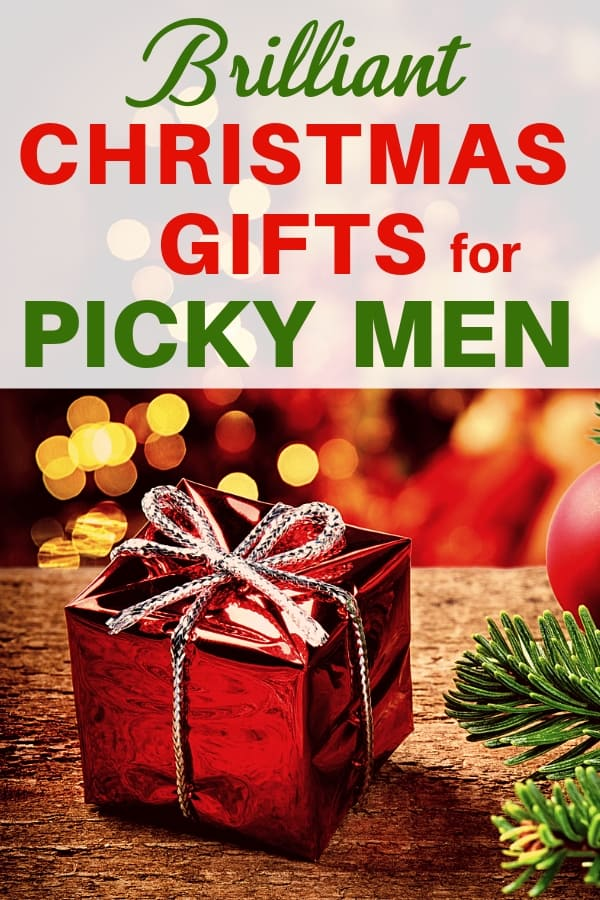 Christmas gifts for picky men - Looking for a fabulous Christmas gift for the man who has everything? Click to see unique Christmas gift ideas that even the pickiest husband, boyfriend or father will love! #giftsforhim #FINDinista.com