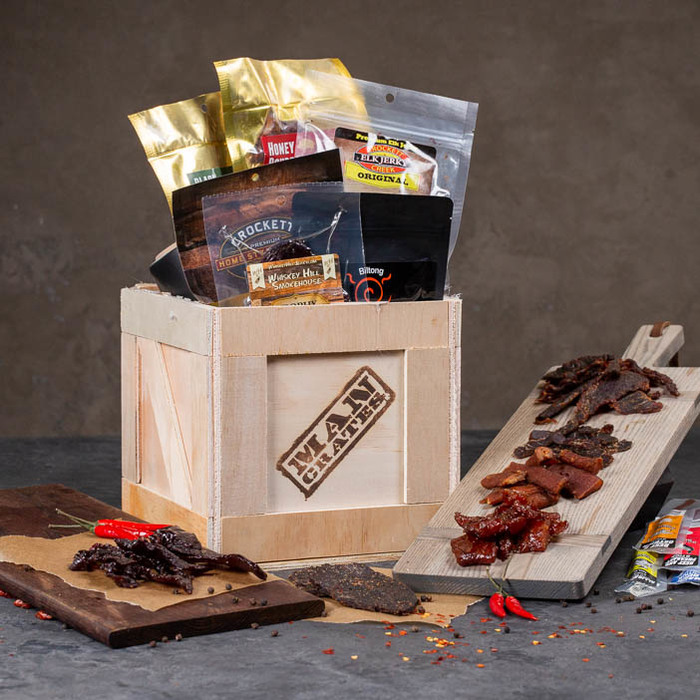 Gift Baskets for Men - Opening a gift basket should be as much fun as seeing the goodies! Impress your favorite guy with a Mancrate - the gift basket he opens with a sledgehammer.