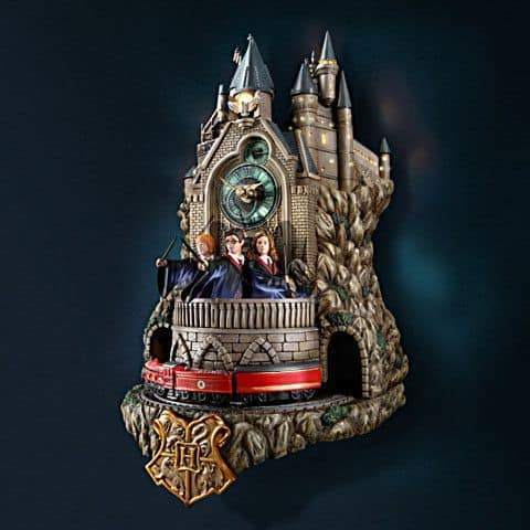 Christmas gift ideas for husband - The die-hard Harry Potter fan will love these unique Harry Potter Wall clock with lights, music and motion! Perfect Christmas gift for the hard-to-buy-for husband.