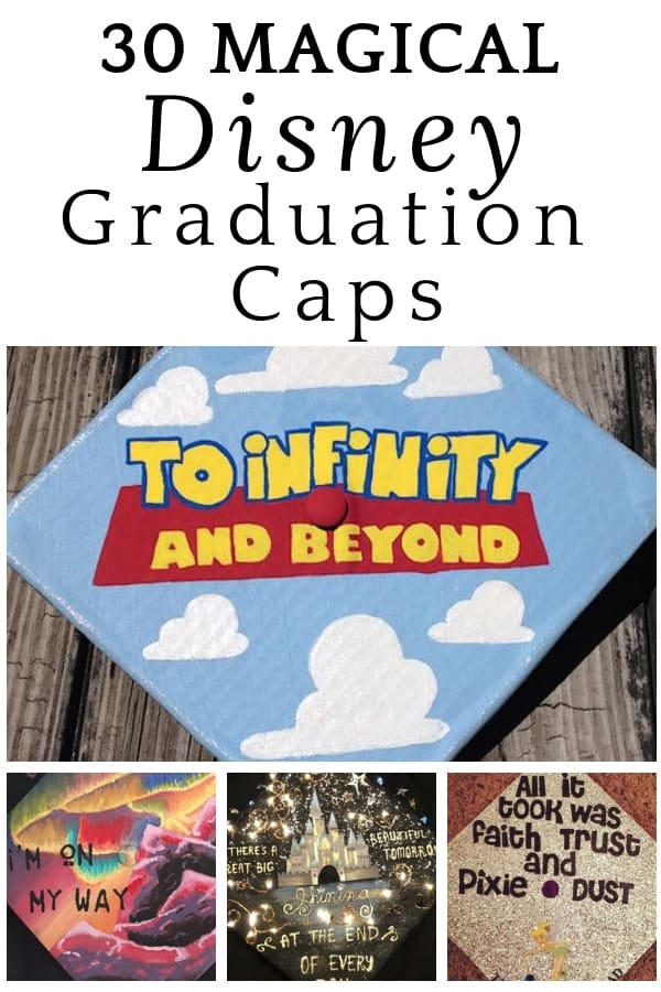 30 Magical Disney Graduation Caps