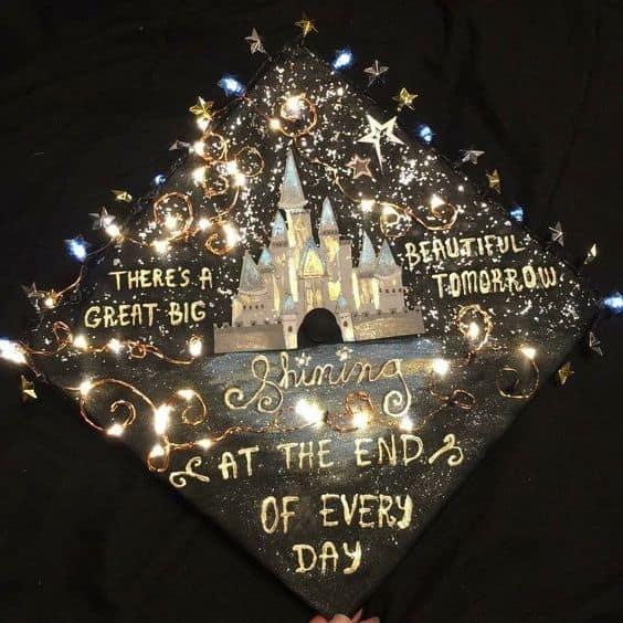 Disney World Grad Cap - 30 Magical Disney Graduation
